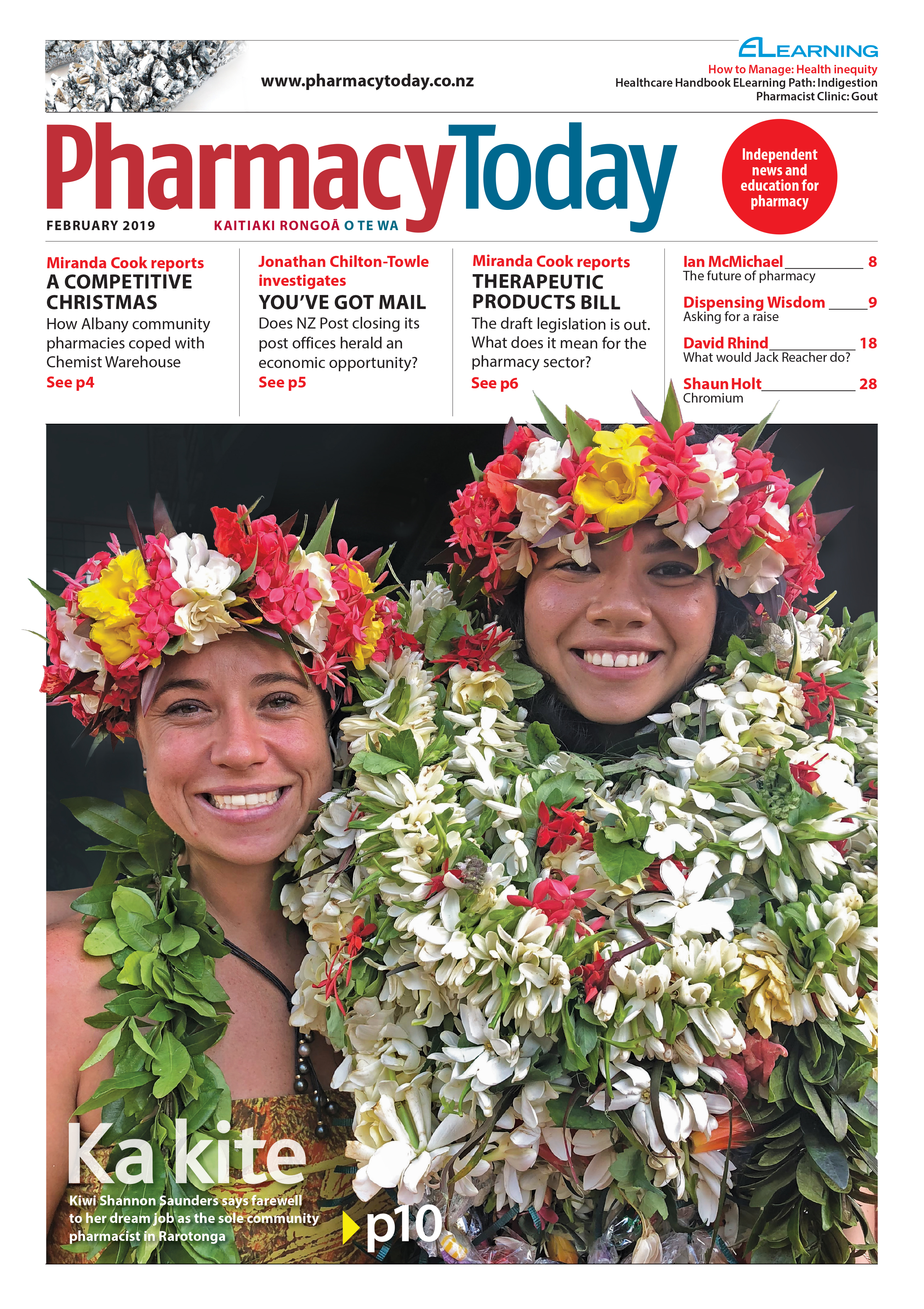 Pharmacy Today February 2019 cover