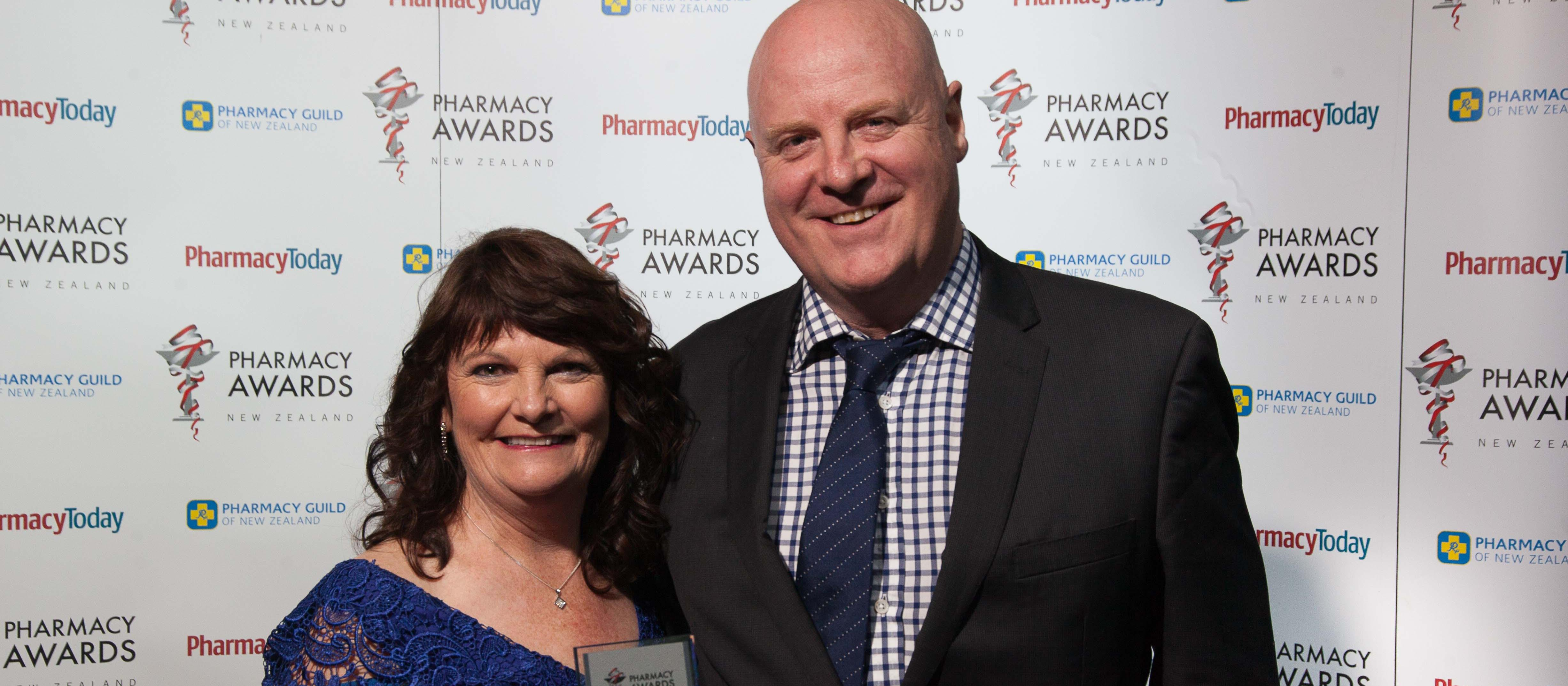 TECHNICIAN SUPERSTAR Betty Hyde and Anthony Aitken of ProPharma
