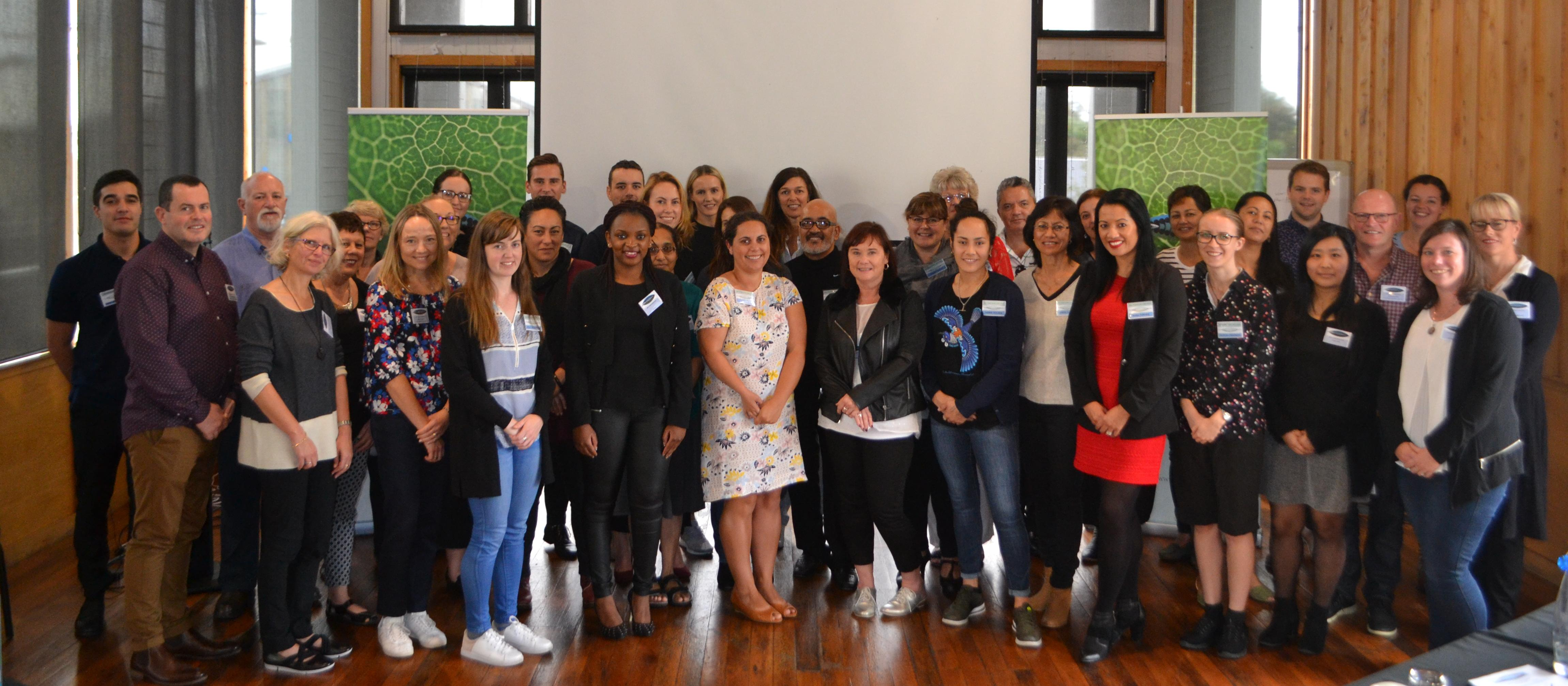 Maori Pharmacists' Symposium group shot
