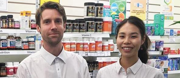 Andrew Irvin and Angela Liu