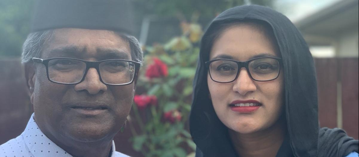 Hamilton pharmacist Keshree Naidoo-Rauf, her father-in-law Mohammed Rauf