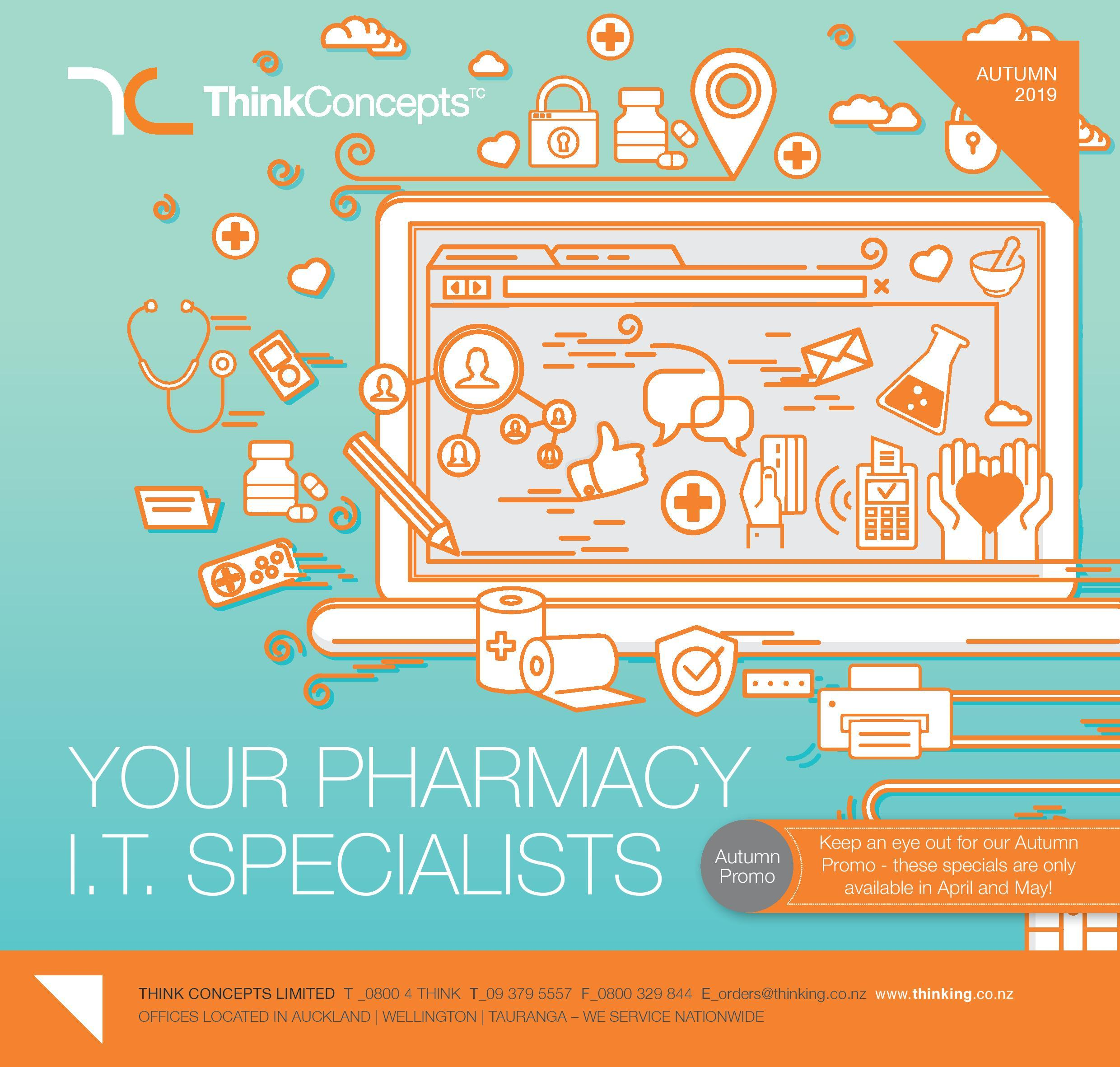 Think Concepts: Your Pharmacy I.T. Specialists