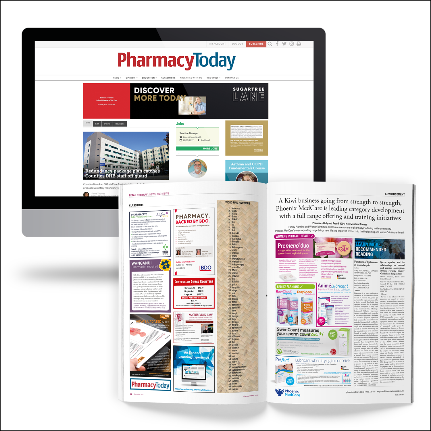 Pharmacy Today online and print classifieds