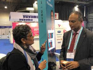 Aarti Patel discusses co-design of patient centered care systems with Ash Soni, president of RPS