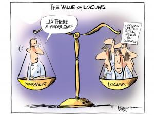 Locums cartoon