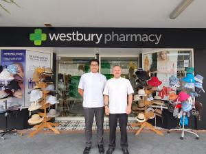 James Westbuty and Reuben Teo, Westbury Pharmacy
