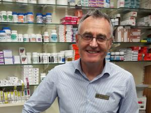 Des Healy, Whanganui Central Pharmacy