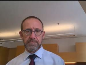Andrew Little by Zoom Jan 2021