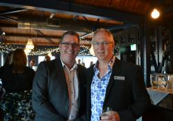 Pharmacy Guild chief executive Andrew Gaudin and board member Shane Heswall