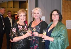Pharmacists Ann Privett, Wellington, Megan Peters and Deirdre Magee, both from Nelson