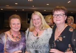 Liz Johnstone form PSNZ, Ngaruawahia pharmacist Mary Roberts and Jo Judge from Morrinsville