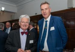 Retired politician Peter Dunne and PSNZ president Ian McMichael