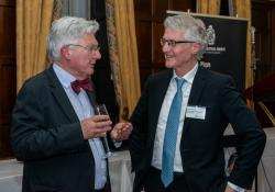 Retired politician Peter Dunne and PSNZ chief executive Richard Townley